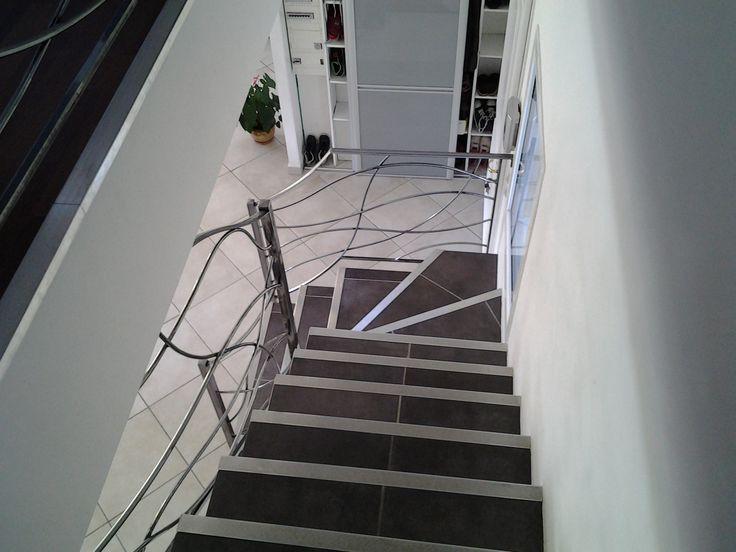 17 meilleures id es propos de rampe d 39 escalier sur pinterest pilastres escalier r novation for Idee rampe escalier