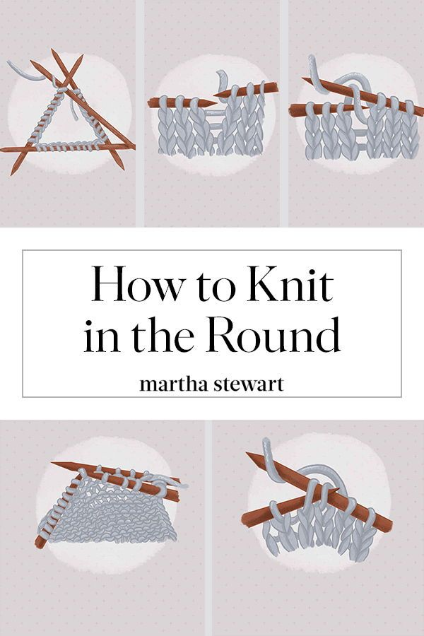 Cómo tejer en la ronda: una guía paso a paso para principiantes