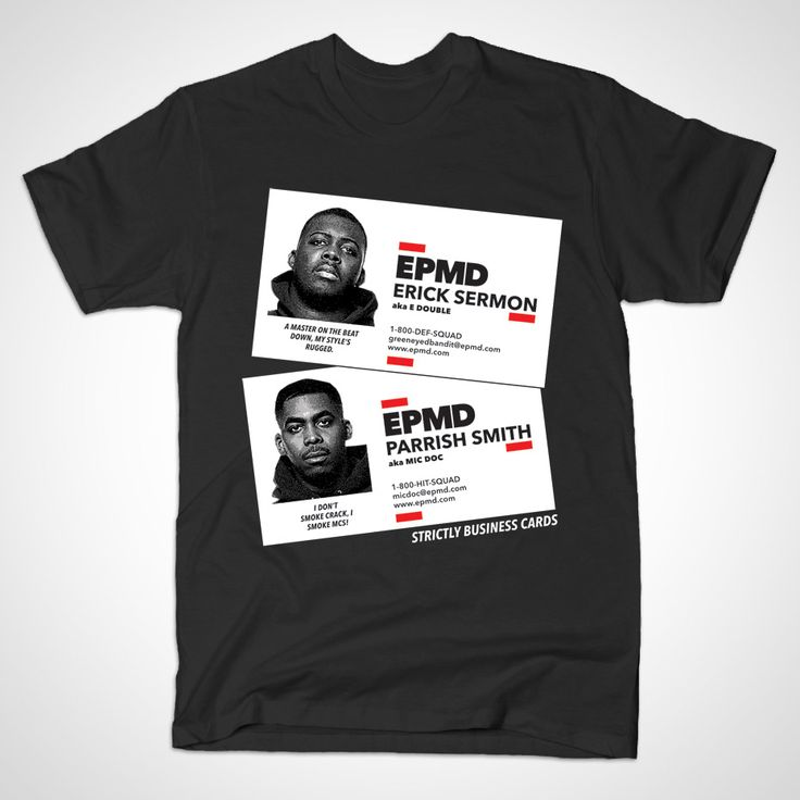 EPMD - Strictly Business Cards