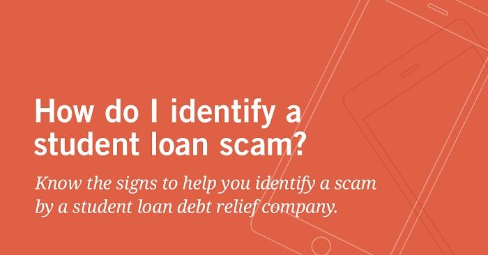 Don T Pay For Help When You Can Get Help For Free The U S Department Of Education Offers Advice On Ho Student Loans Debt Relief Companies Student Debt Relief