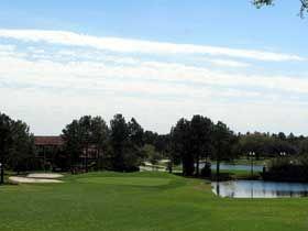 Golf hole on Las Colinas