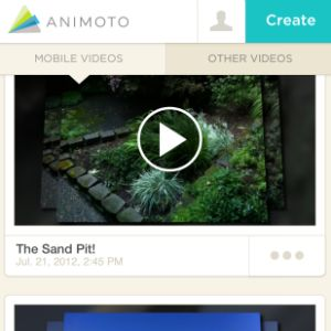 The world of digital storytelling gets cracked open with Animoto Video Maker. This tool lets kids 13 and older combine pictures, video, music, and text to make video slideshows on a mobile device.