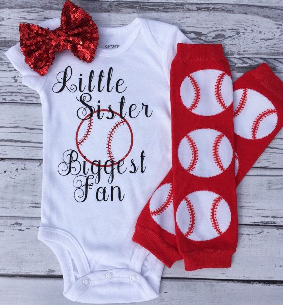 Baby Girl Baseball Outfit Baby Girl Baseball by MyTuTuCuteBoutique