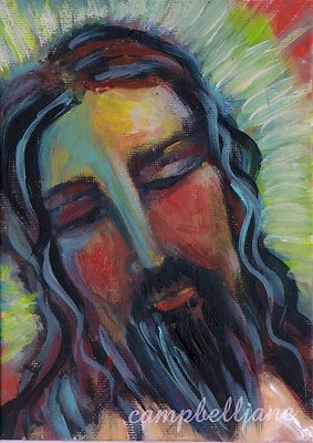 Jesus Portrait Peace Be With You