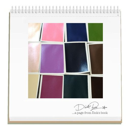 """""""Nel mio laboratorio: campioni di #colore che si trasformeranno in tinte per il #makeup."""" (Dick Page) Ecco svelata l'origine delle bellissime #nuance #Shiseido! #ShiseidoArte"""