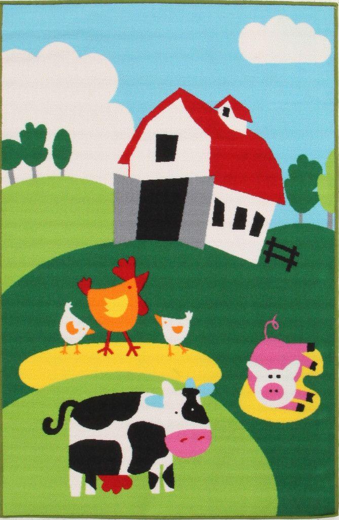 Farm Rug #CleverStuff