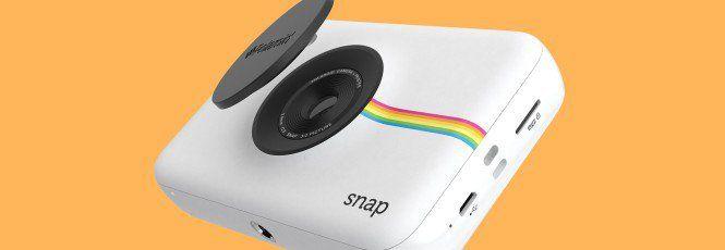 Al CES 2016 Polaroid Snap la fotocamera istantanea di nuova generazione