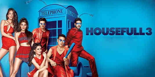 Review of Housefull 3, Rating, Budget, Audience Response