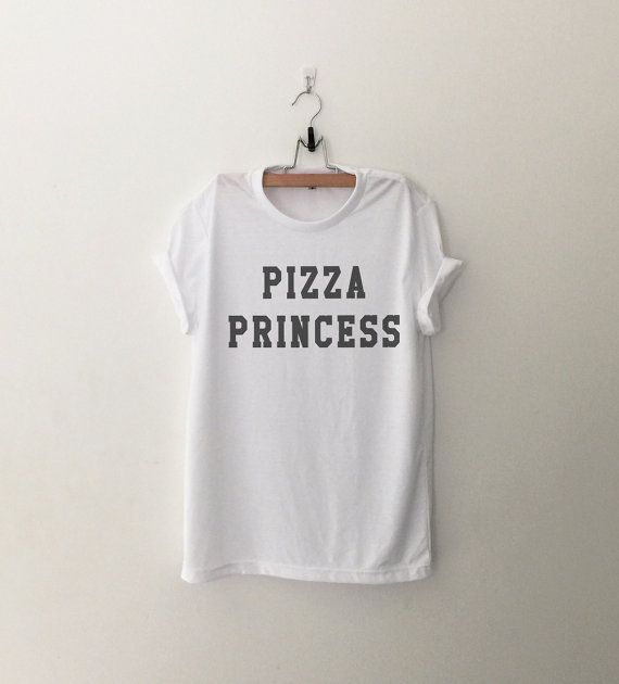 Pizza Princess T-Shirt womens girls teens unisex grunge tumblr instagram blogger punk hipster gifts merch