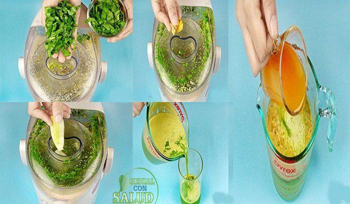 Como Hacer Jugos Caseros Para Fortalecer Los Huesos Healthy Drinks Smoothies Healthy Drinks Smoothies