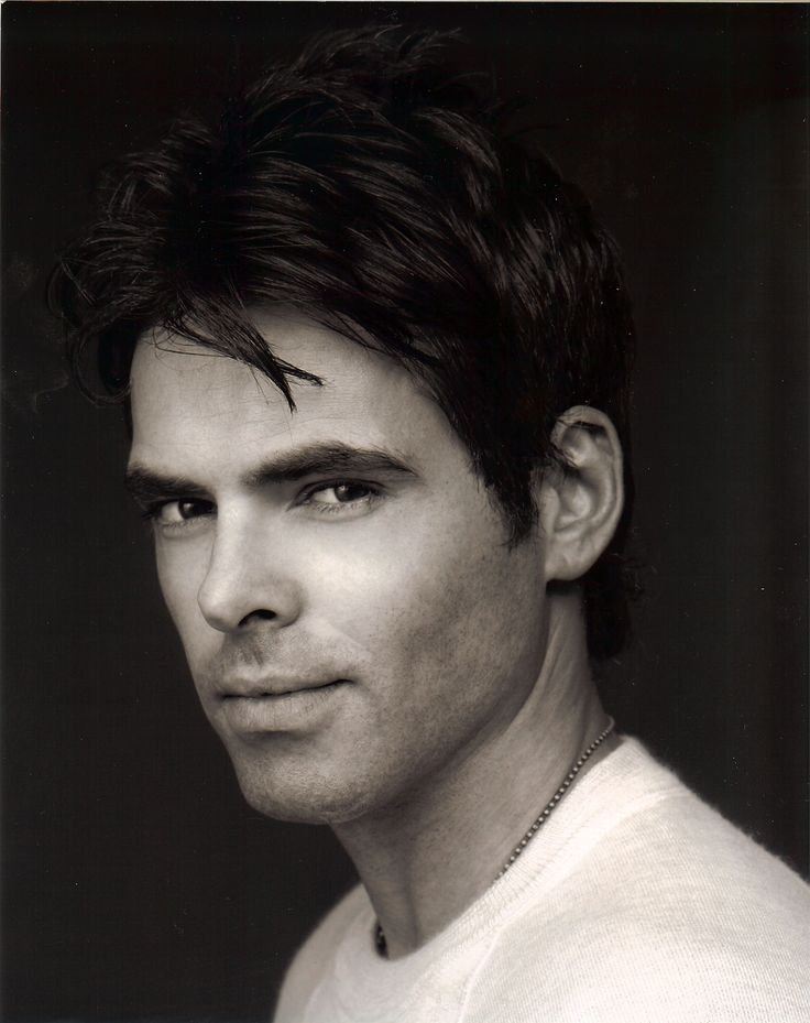 Jason Thompson of General Hospital as Dr. Patrick Drake