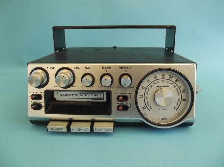 details about vintage kraco kid 581 d am fm stereo. Black Bedroom Furniture Sets. Home Design Ideas