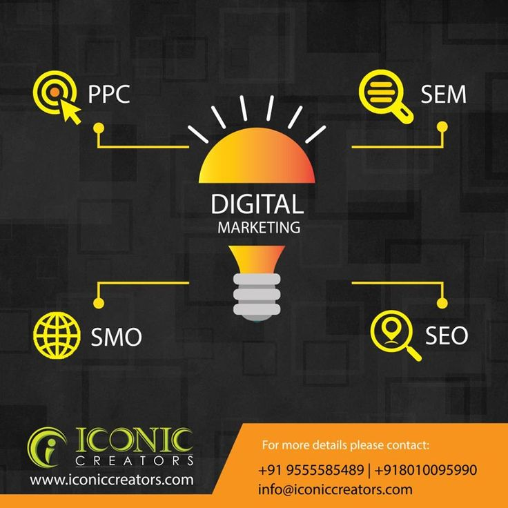 We provides on search engines such as Google, Yahoo and Bing. As a full-service digital marketing company in Delhi India. we can provide you admittance to an extensive span of information and know-how from every face of internet promotion. for more details please visit our website www.iconiccreators.com Or You can make a call at +91 95555 85489 | 80100 95990