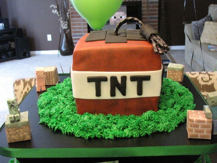 17 Best Ideas About Easy Minecraft Cake On Pinterest
