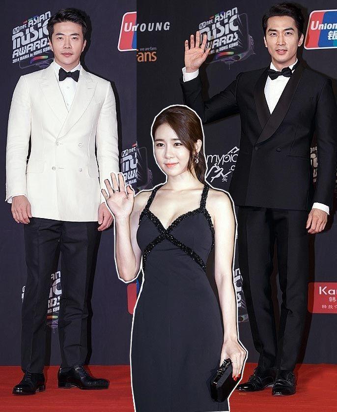 2014-MAMA-Awards-K-Star-Fashion Gaya simpel Kwon Sangwoo, Song Seunghun, dan MC Get It Beauty Yoo Ina yang menarik perhatian!