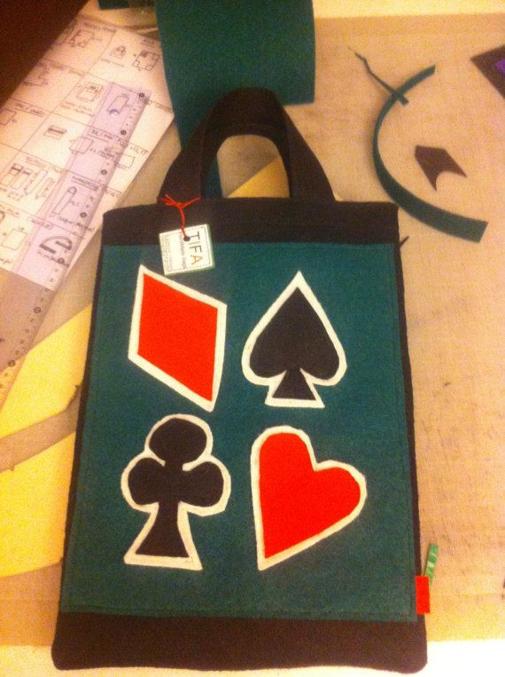 TIFA Bags trendy card game bag poker bag bridge bag by TIFABags