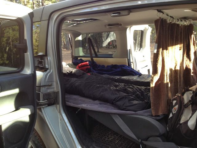 Colorado Adventures: Honda Element Camper/Platform