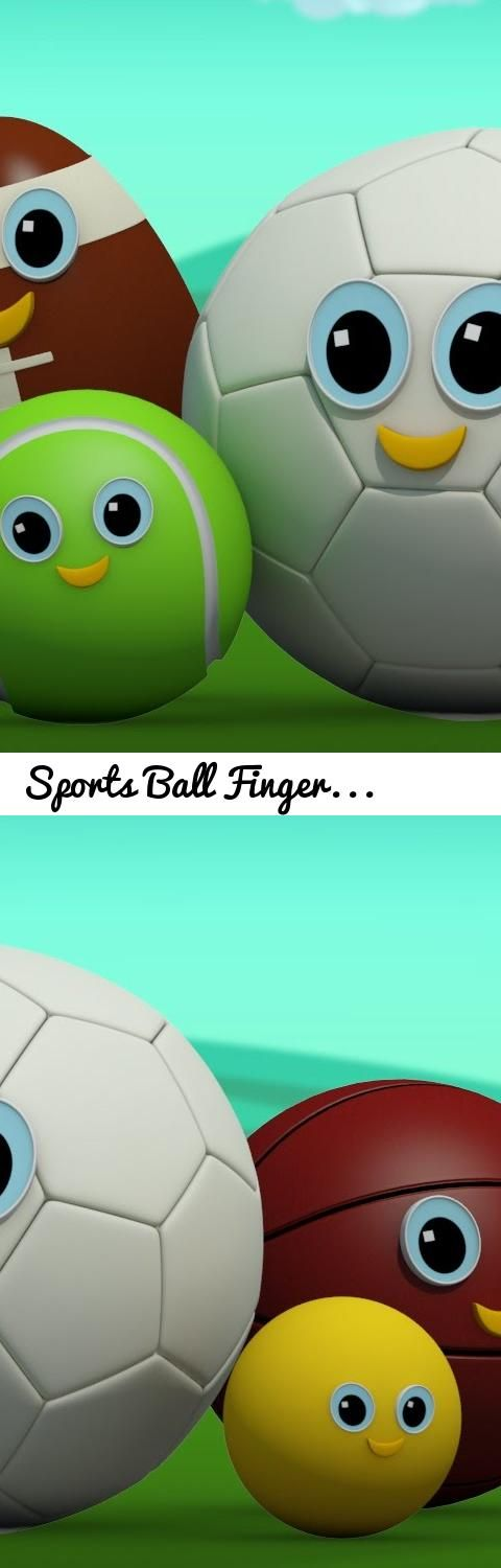 Sports Ball Finger Family | Football Finger Family | Kids Rhymes | Rhymes For Children Videos... Tags: sports ball finger family, sports balls, balls for kids, finger family ball, ball finger family, nursery rhymes, kids tv, kids songs, childrens videos, sportsball, football, sports ball, soccer ball finger family, football finger family, the finger family, baseball, 3d rhymes, color balls, finger family, songs for kids, rhymes for kids, nursery songs, nursery rhymes songs, kids rhymes…
