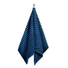 Ujo handduk 50x100 cm, Blå/Mörkblå