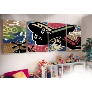 Panel Wall Art Airplanes: Wall Art, Fun Diy, Art Airplanes, Kids Wall, Panel Walls, Environmental Graphics, Aircraft Project, Diy Projects