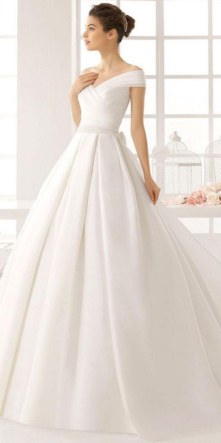 10 einfache Brautkleider für Chic und Simple Style
