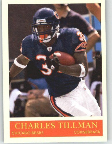 2009 Upper Deck Philadelphia #39 Charles Tillman - Bears (Football Cards) by Upper Deck Philadelphia. $0.10. 2009 Upper Deck Philadelphia #39 Charles Tillman - Bears (Football Cards)