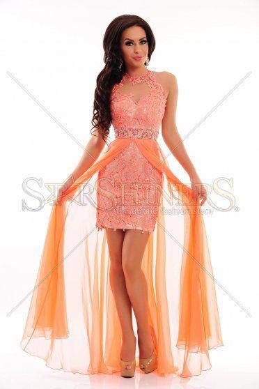 Rochie Sherri Hill 9713 Coral