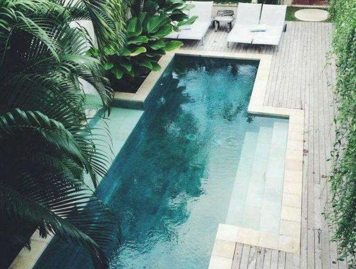 Les 25 meilleures id es de la cat gorie piscine couloir de nage sur pinterest couloir de nage for Entourage piscine design
