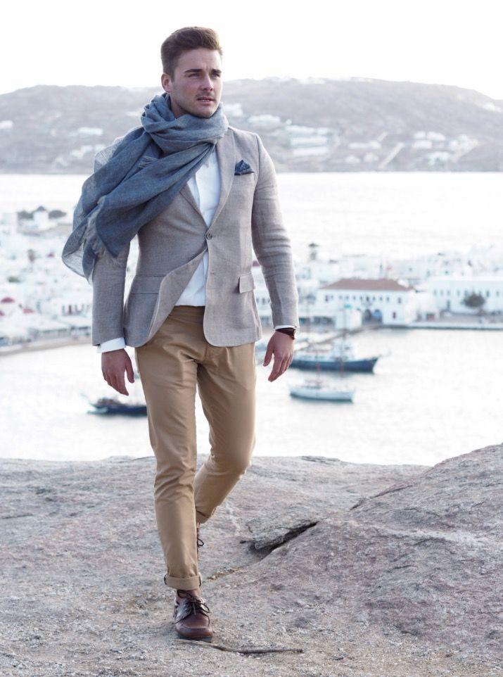 Balmuir Bellagio scarf in Dark denim