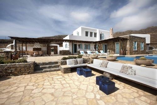 Greek beach house.