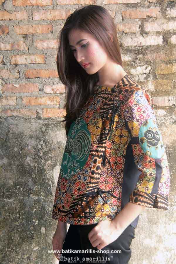 Batik Amarillis made in Indonesia proudly presents Batik Amarillis's Aracely…