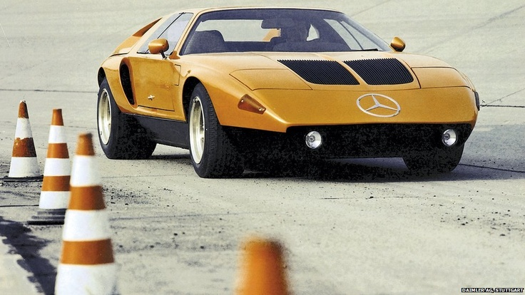 The C111, 1970, Prototype by Mercedes-Benz