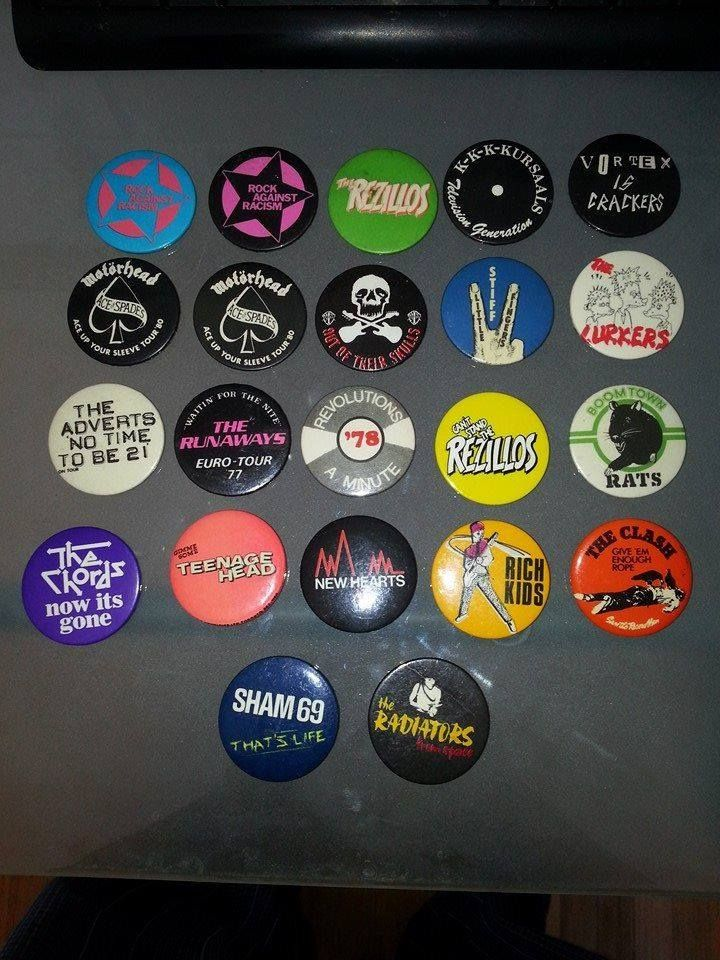 Pin cushions badges punk patches name badges button badge badge punk rock lapel pins