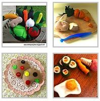 Felt Food Tutorials - Things to Make and Do, Crafts and Activities for Kids - The Crafty Crow