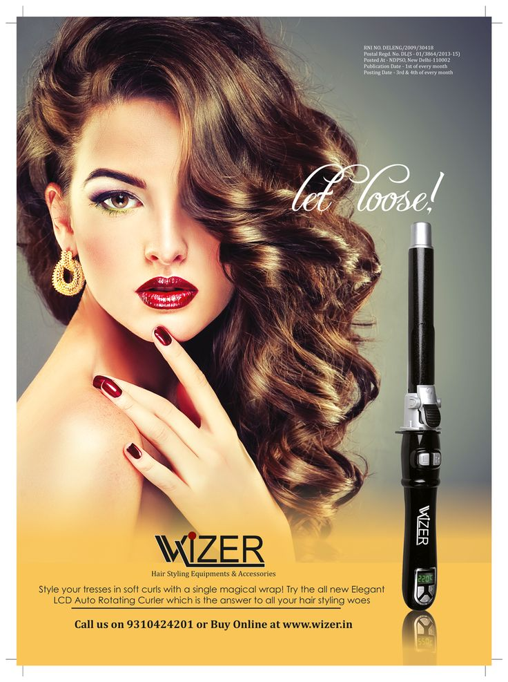 Spin your #hair #style with this Wizer Elegant LCD #Auto #Rotating #Hair #Curler. The 360 degrees swivel feature makes sure that each strand of hair has been covered and curled. Wizer Hair Curler automatically creates effortless, #beautiful, #silky #smooth #wavy #curls in just seconds. Shop Now @ bit.ly/1TGaiiY