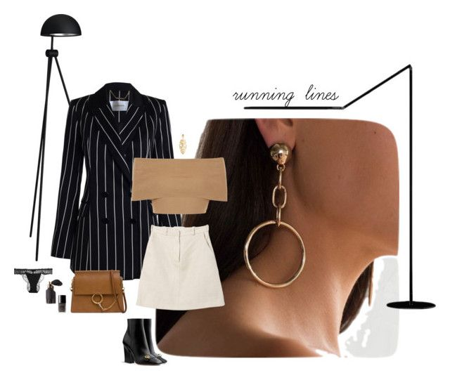 Running lines by irene-scroppo on Polyvore featuring polyvore, fashion, style, Blue Vanilla, Zimmermann, Carven, La Perla, Chloé, Loewe, Chanel and clothing