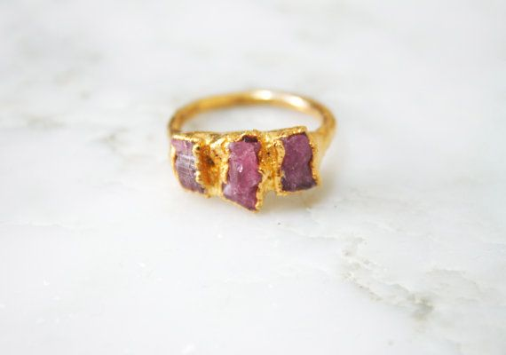 Hey, I found this really awesome Etsy listing at https://www.etsy.com/listing/251844373/pink-tourmaline-ring-24k-gold-plated