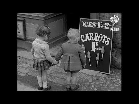Easter on the Homefront: all we got for Easter was a carrot on a stick, 1941 by British Pathé