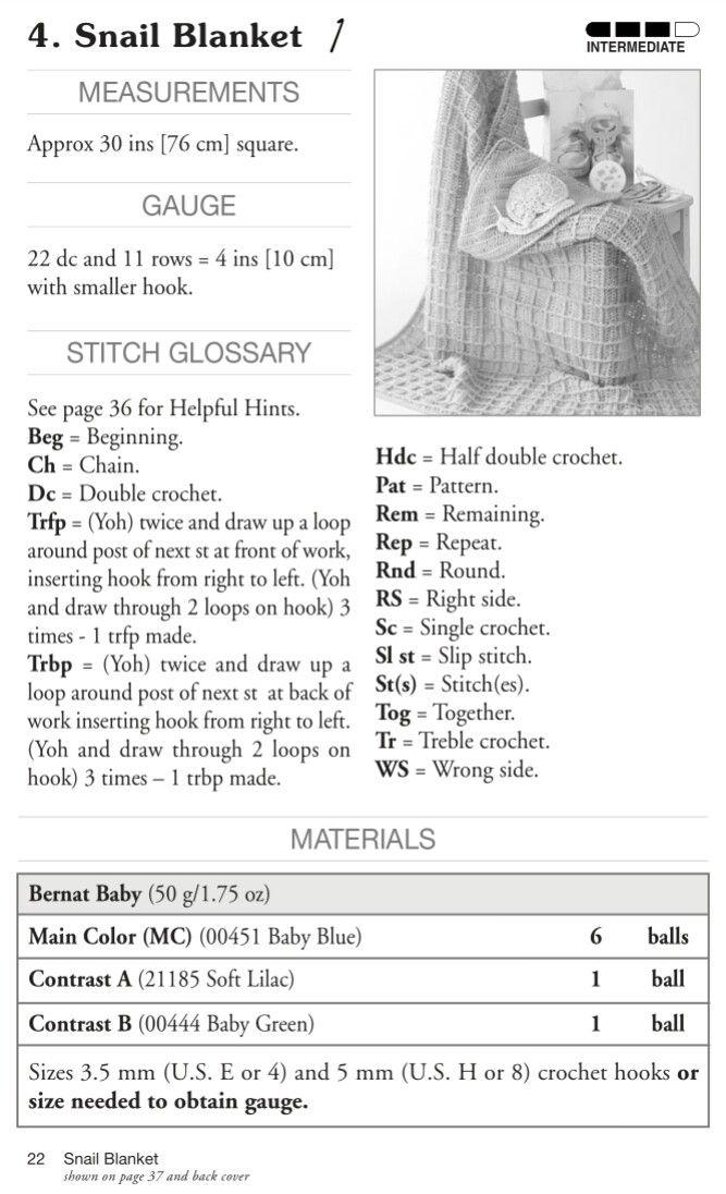 149 best Crochet afghans/baby blankets #1 images on Pinterest ...