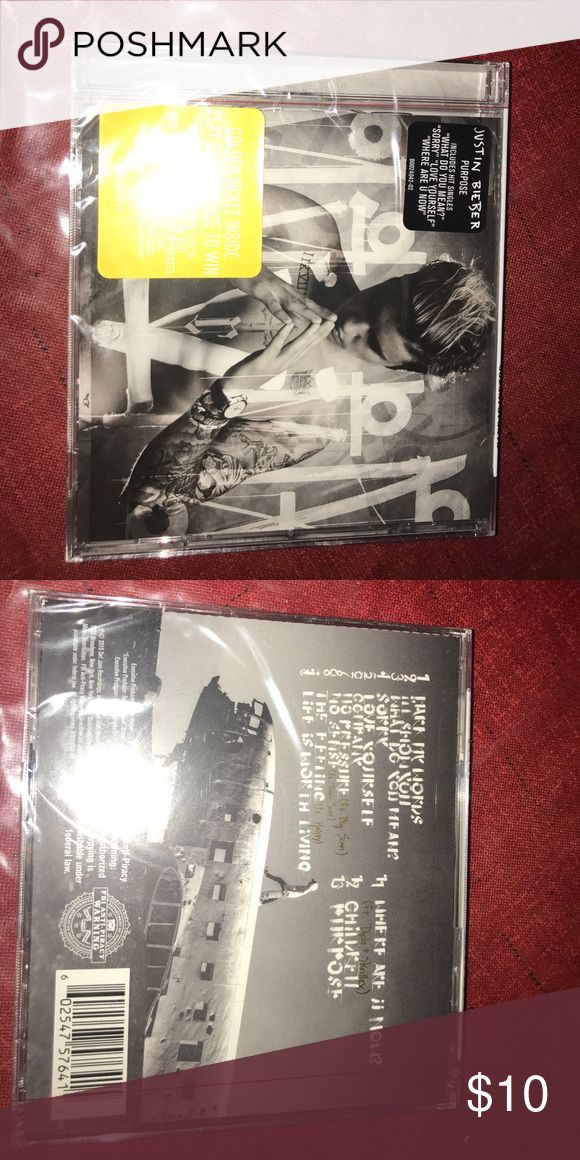 Justin Bieber CD Justin Bieber CD: Purpose Justin Bieber Other