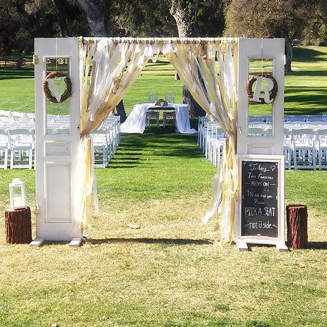 Burlap Wedding Altar: 146 Best Wedding Altars Ceremony Design Images On