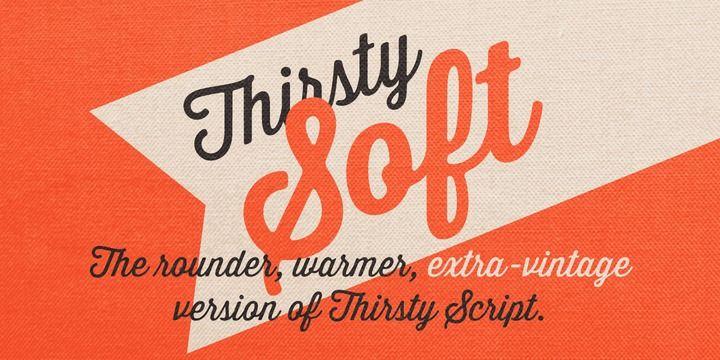 Thirsty Soft - Webfont & Desktop font « MyFonts