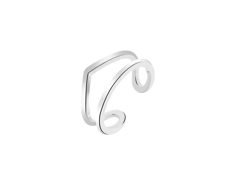 Mini pierścionek srebrny | Apart