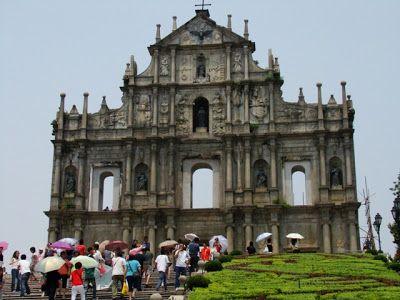 Foto de Memorias del Mundo de las ruinas de la catedral de Macao