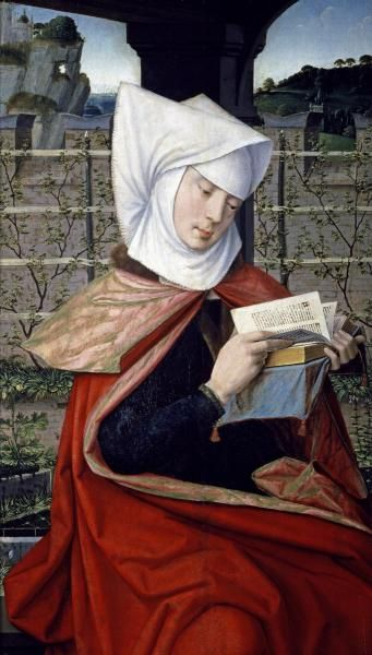 Jan Provost (c. 1465-1529) : Emérencie, mere de sainte Anne (in the Louvre, Paris) The Mother of Saint Anne