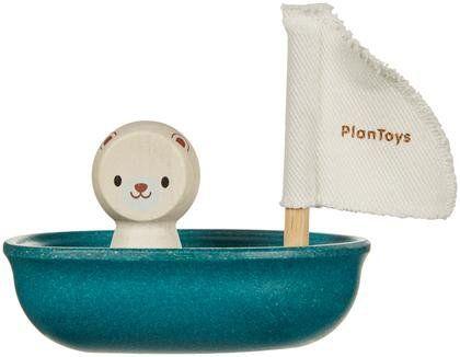 PlanToys Sailing Boat- Polar Bear
