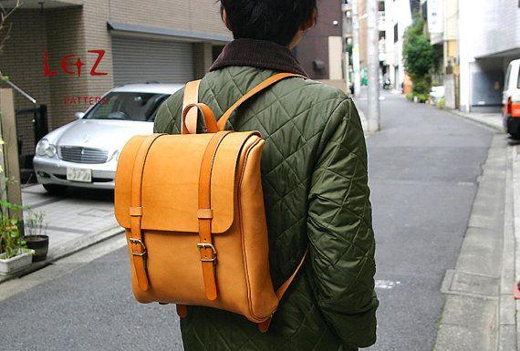 PDF tas patronen zak naaipatronen Rugzak Backpack door LZpattern, $15.00