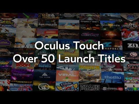Users Can Finally Touch the Oculus Touch