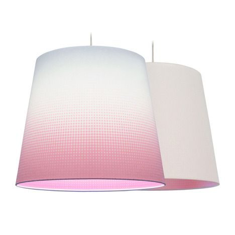 Mist lampshade by Marc Th. van der Voorn (AAN-UIT). The colours only appear when the light is turned on.