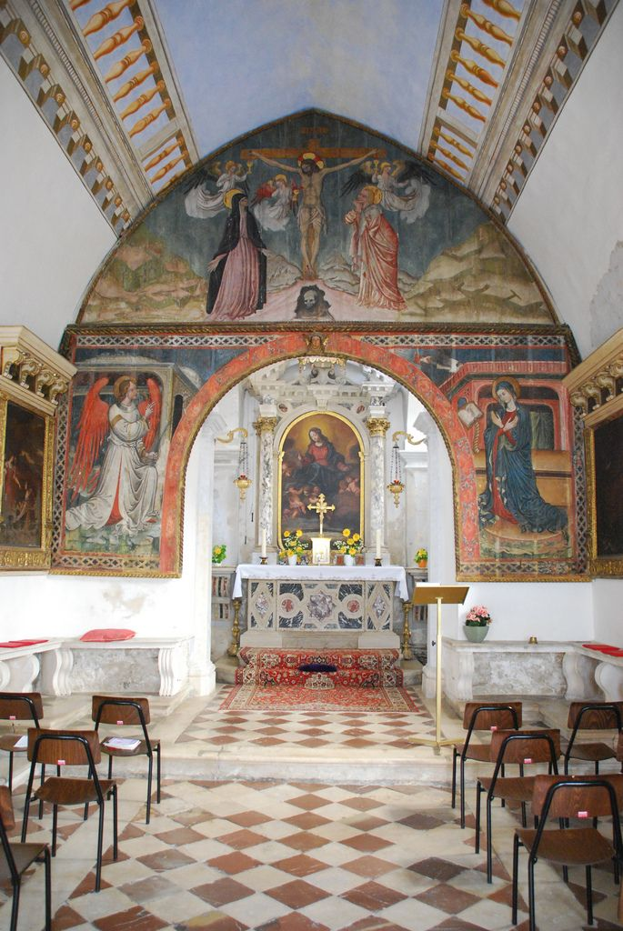 old church interior by dick dangerous piran slovinia